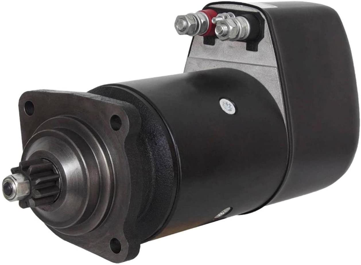 Rareelectrical NEW STARTER MOTOR COMPATIBLE WITH VOLVO PENTA ENGINE MD42A MD50A MD70A B C DIESEL 0-001-402-079