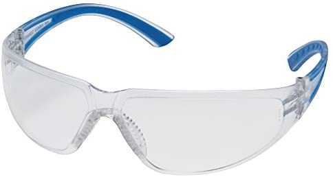 Pyramex Safety Glasses - Cortez - Clear Lens - Blue Frame - MS97140 (12)
