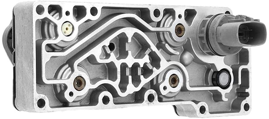 Acouto Car Aluminum Transmission Valve Body Assembly for Ford, FBIP-7G361-CC F81Z-7G391CB