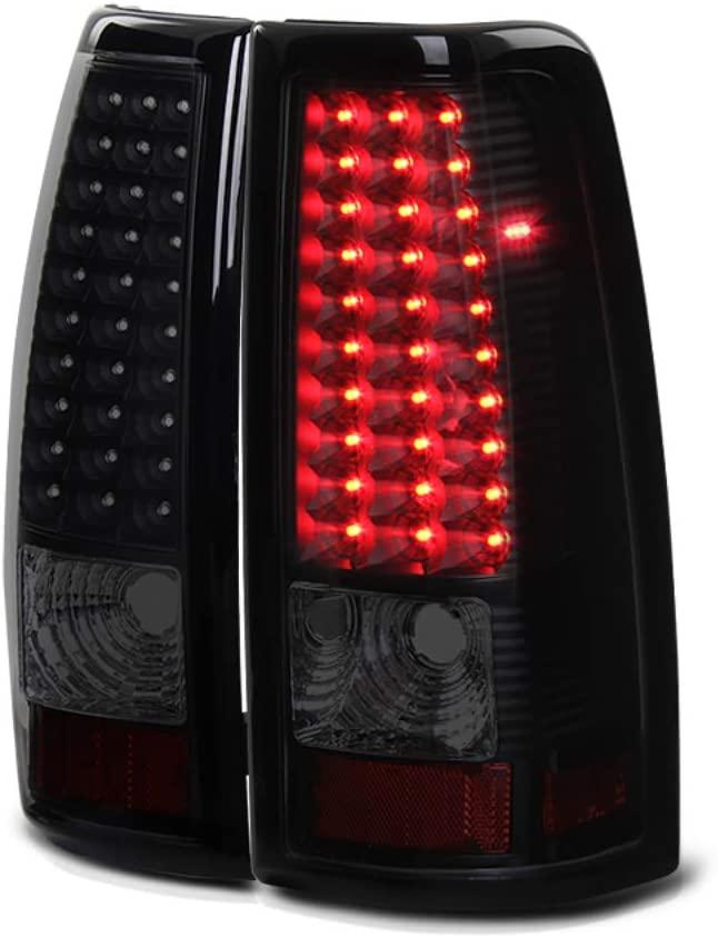 VIPMOTOZ LED Tail Light Lamp Assembly For 1999-2002 Chevy Silverado & 1999-2006 GMC Sierra 1500 2500 3500