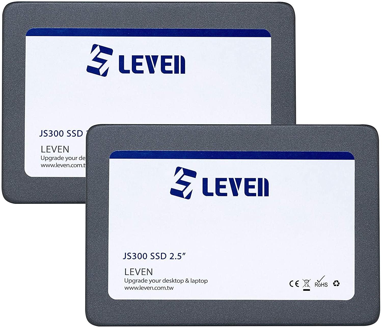 LEVEN (120GBx2) SSD 3D NAND TLC SATA III 6 Gb/s, 2.5