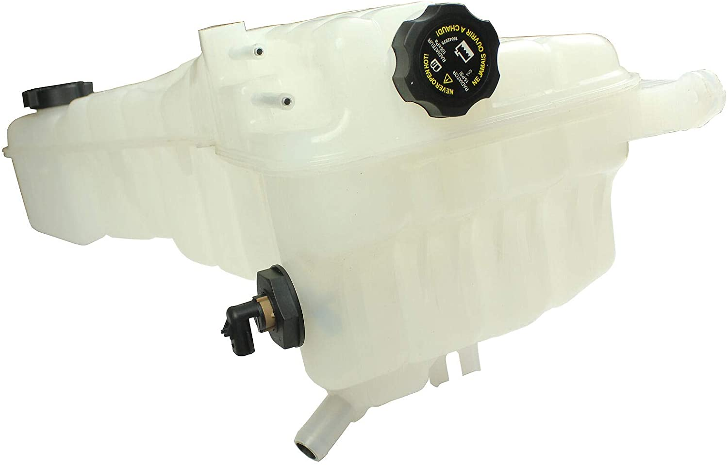 LOSTAR Engine Coolant Recovery Tank For 2012 2013 2014 2015 2016 Freightliner M2 106 108 A0528531000,603-5207