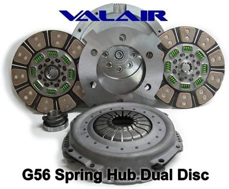 Valair Performance G56 Spring Hub Dual Disc Clutch (Organic)