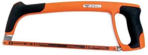 Bahco Tools 319 - Hand Hacksaw, Frame Style: Flush Cut, Blade Length: 12