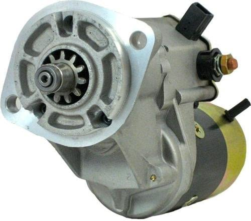 Rareelectrical NEW 24V 4.5KW 11T CW STARTER COMPATIBLE WITH KOMATSU CRAWLER EXCAVATOR PC75-3 4D95 ENGINE