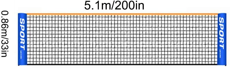 Standard Portable Volleyball Badminton Tennis Multi-Size Training Net for Indoor and Outdoor