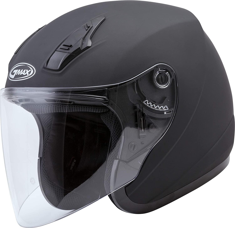 GMAX OF-17 Open-Face Motorcycle Helmet for Men and Women