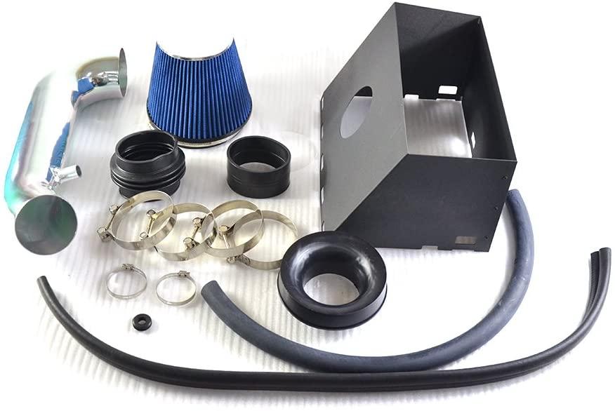 Performance Cold Air Intake Kit With Filter Fit For 2009 2010 Dodge Ram 1500/2500 & 2009 Dodge Ram 3500 2011 2012 2013 2014 Ram 1500/2500 & 2011 Ram 3500 5.7L V8(Blue)