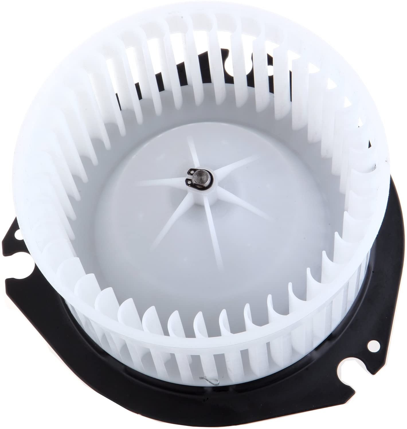 HVAC Plastic Heater Blower Motor ABS w/Fan Cage ECCPP fit for 2003-2013 Chevy Express 1500/1996-2002 Chevy Express 1500/1996-2002 Chevy Express 2500