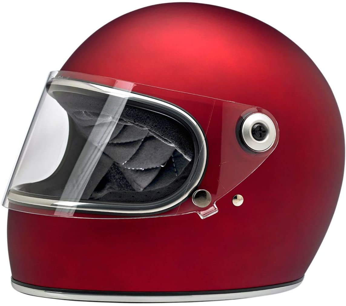 Biltwell Gringo S Helmet (X-Large/DOT/ECE) (Flat Red)