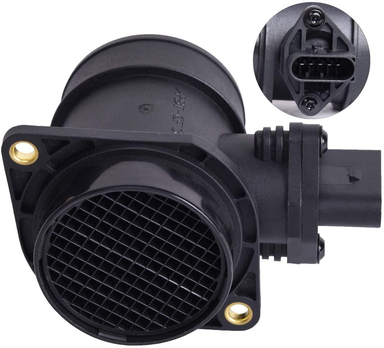 Bapmic 06A906461N Mass Air Flow Sensor Meter MAF for Volkswagen Passat 1.8L l4