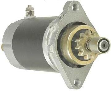 Rareelectrical STARTER COMPATIBLE WITH YAMAHA OUTBOARD 25MHZ 25MLH 25MSH 30EH 30EL S108-87A 18-6421 6F581800-10 6F58180010 6F581800-11 6F58180011