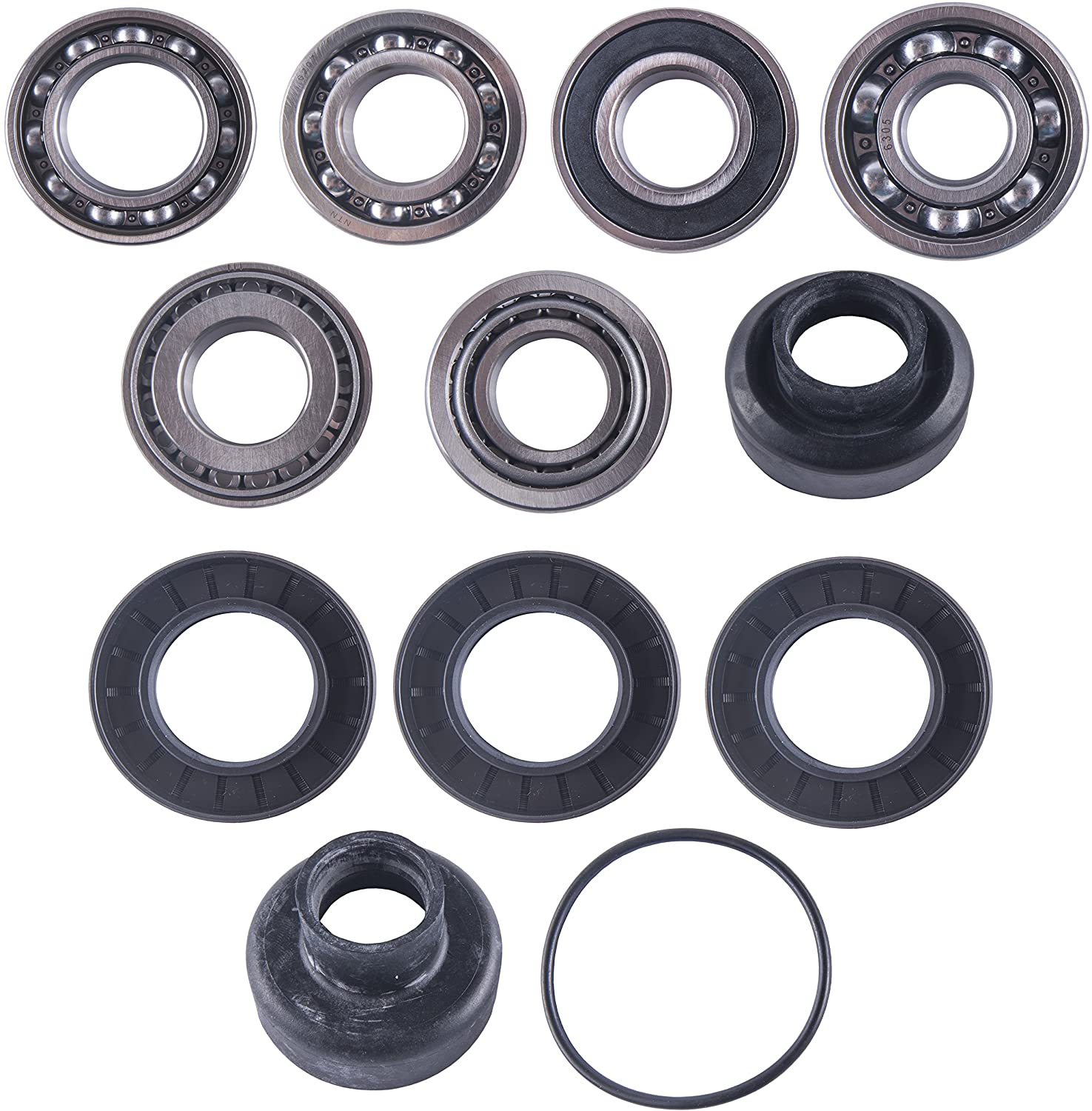 East Lake Axle rear differential bearing & seal kit compatible with Yamaha 550/700 Grizzly 2007 2008 09-2015
