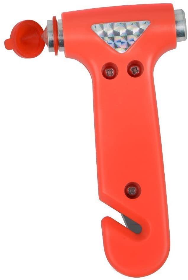 Seatbelt Cutter Window Breaker Escape Tool Auto Car Rescue Disaster Survival (Quantity 3)