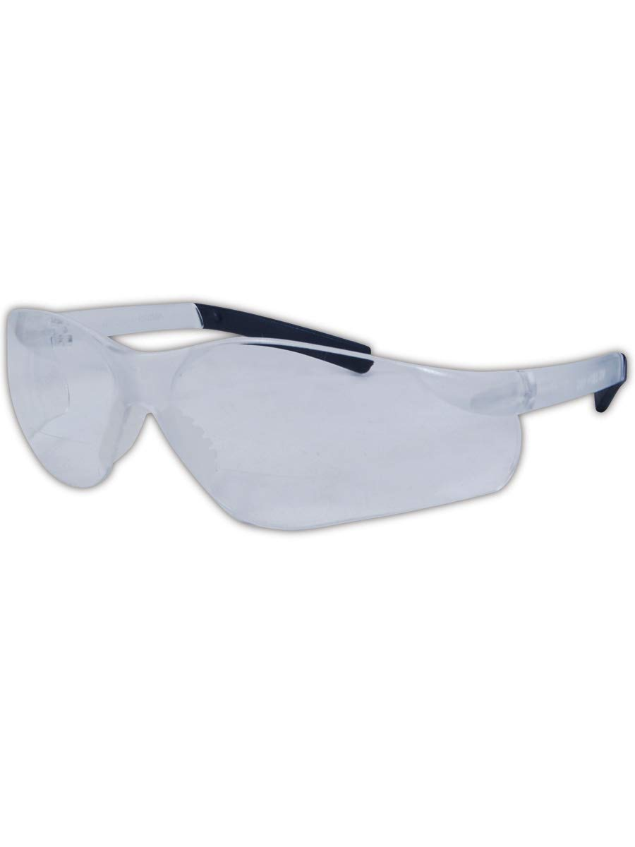 Magid Glove & Safety Y19GFGY10 Gemstone Myst Flex Y19 Series Protective Eyewear, Gray Frame, 1.0 Diopter Lens (6 Pair)