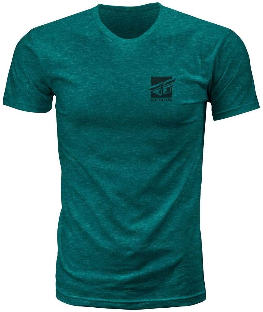 Fly Racing Proper T-Shirt (X-Large) (Reef)