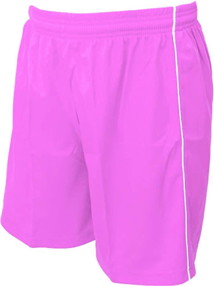 Vizari Dynamo Soccer Shorts, Pink, Adult Medium