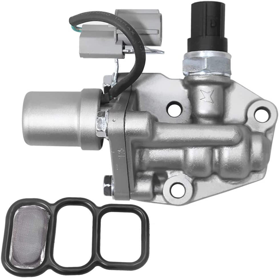 VTEC Solenoid Spool Valve with Timing Oil Pressure Switch for Honda Accord 1998-2002, Replace 15810-PAA-A01 15810-PAA-A02