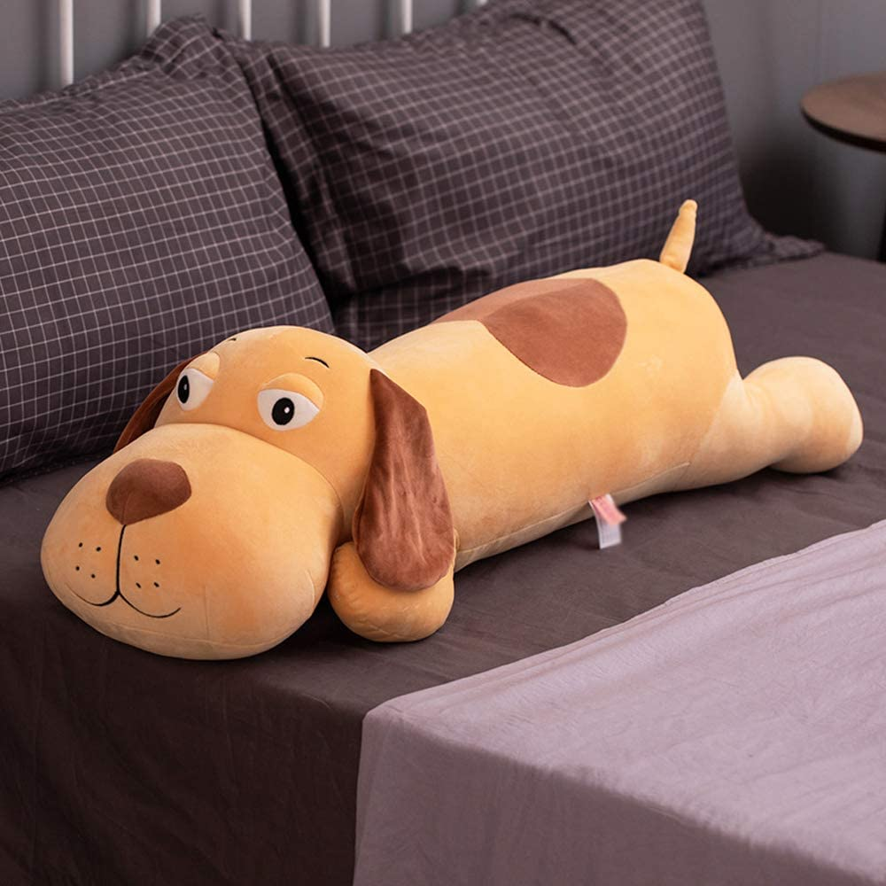 Dog Stuffed Animals, Soft Plush Dog Pillow Puppy Toys Gifts for Kids, 19.6