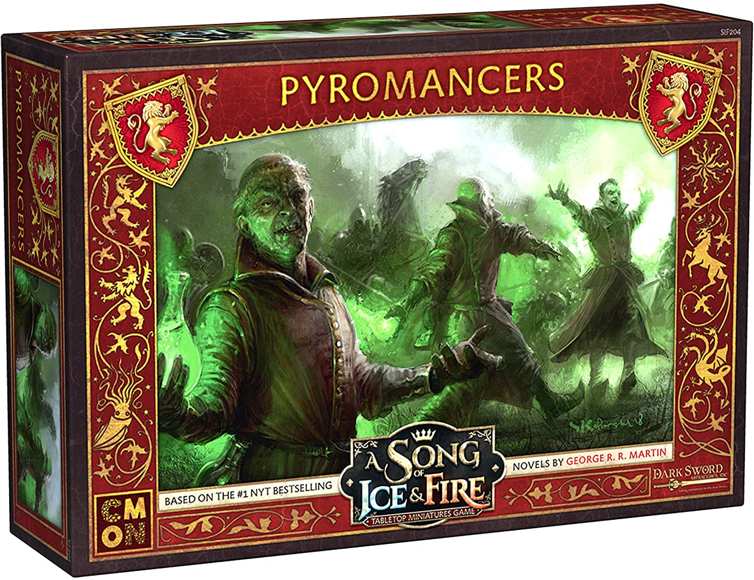 A Song of Ice & Fire: Lannister Pyromancers
