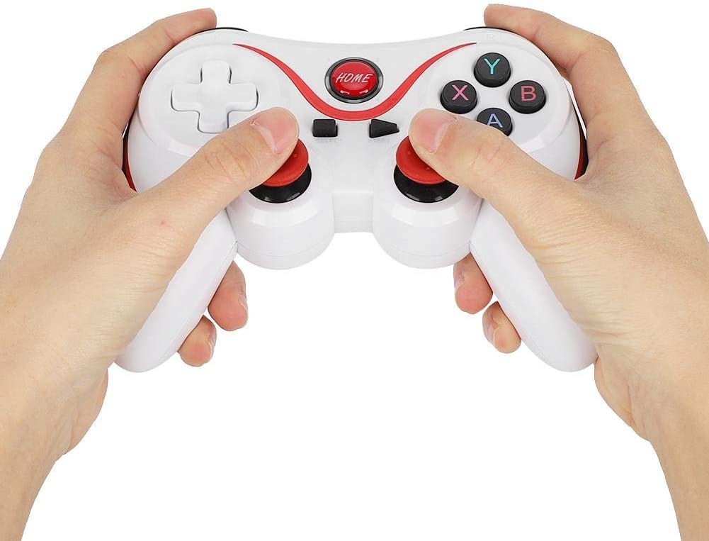 Hilitand Wireless Bluetooth 4.0 Gamepad,Mobile Game Controller for PS3 Game Machine, Smartphones, Tablet PC,for Andriod, for iOS, for Win 7/8/10 System,with Charging Cable
