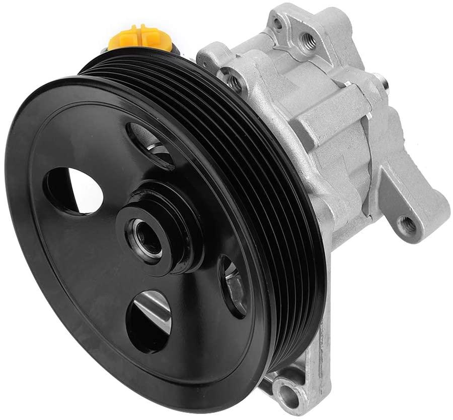Power Steering Pump,Aluminum Power Steering Pump Fit for Mercedes Benz 0024668201 0024668101