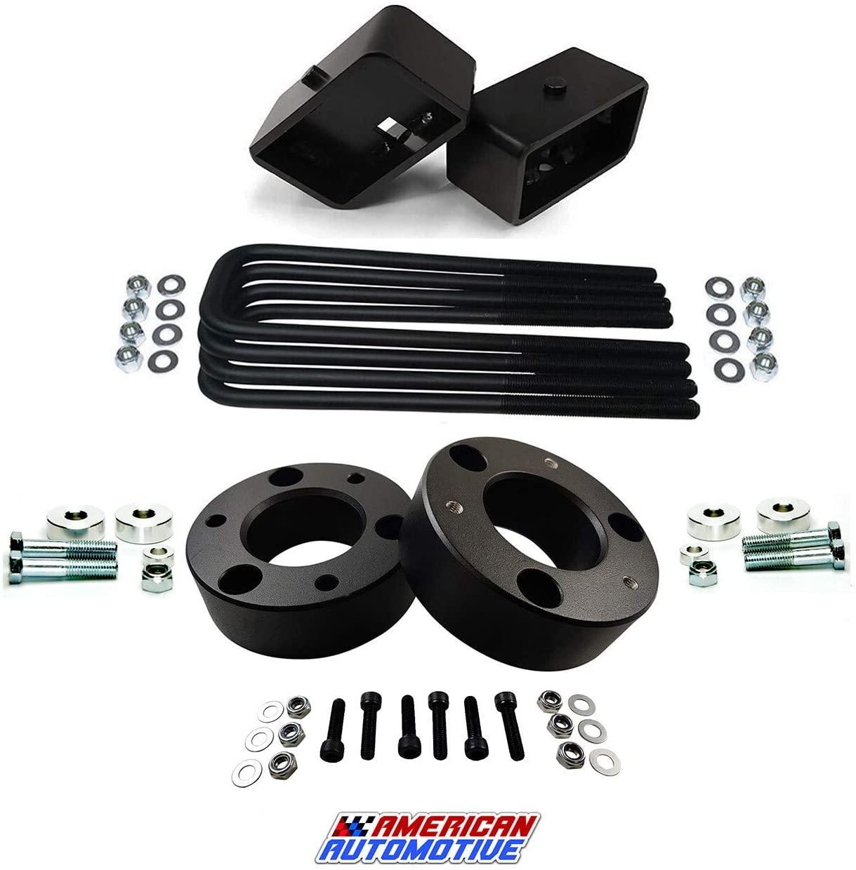 American Automotive Full Lift Kit Compatible 2007-2018 Silverado & Sierra 1500 3