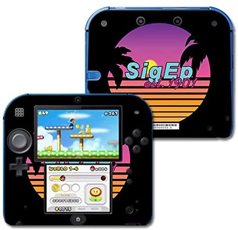 MightySkins Compatible with Nintendo 2DS - Sigma Pi Epsilon Radical   Protective, Durable, and Unique Vinyl Decal Wrap/Decal   Device Not Included - This is A Skin  Made in The USA
