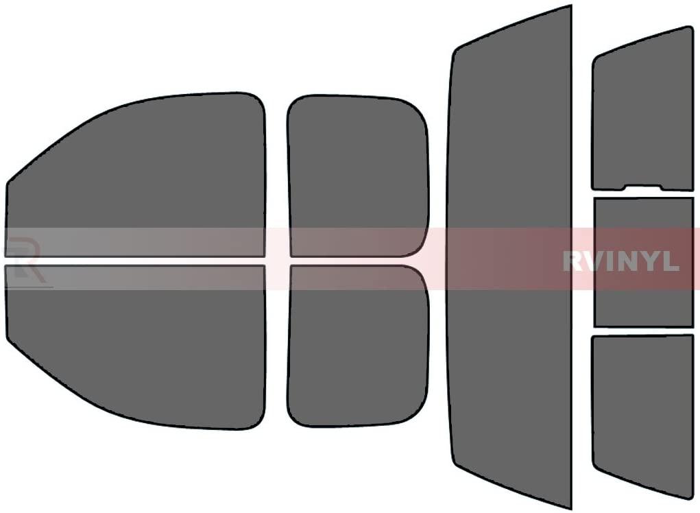 Rtint Window Tint Kit for Chevrolet Silverado 2007-2013 (2 Door) - Complete Kit - 35%