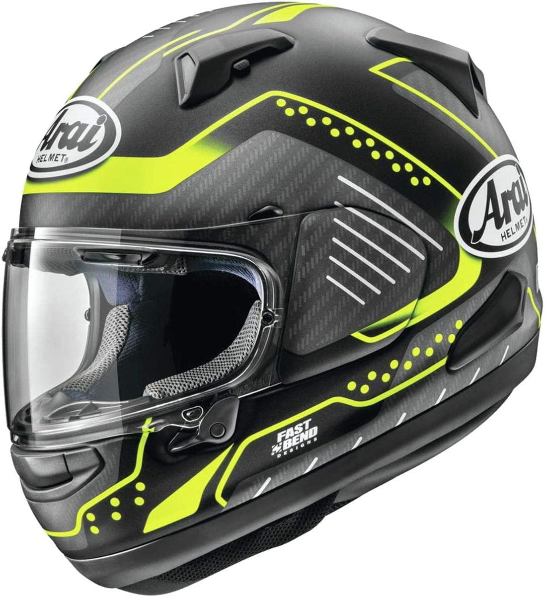 Arai Quantum X Helmet - Drone (Large) (Black/Yellow)