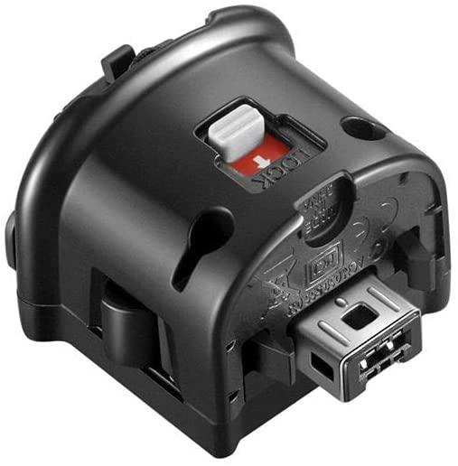 NC Motion Plus Adapter-Sensor Accelerator for Nintendo Wii Remote Controller (Black 1 Pcs)