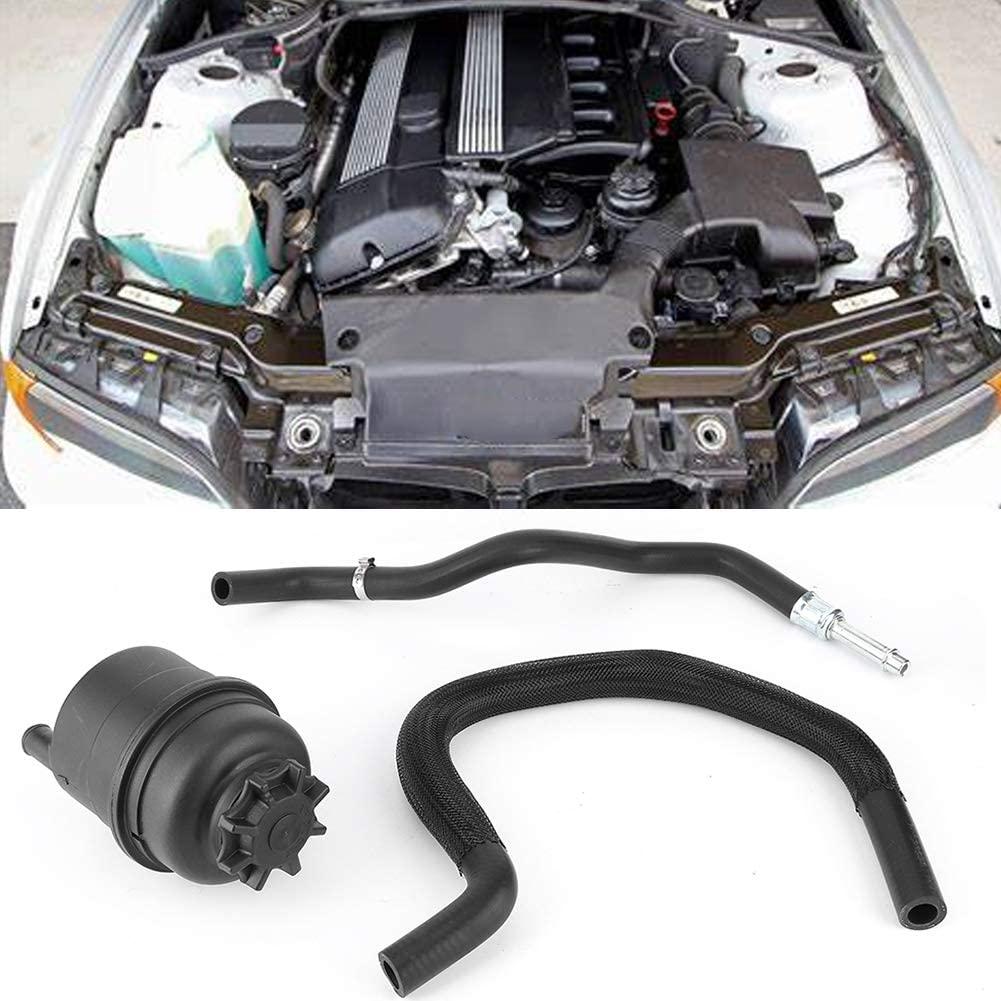 Power Steering Reservoir Hose Kit Fit for BMW E46 320Ci 325Ci 325i 330Ci 330i Power Steering Hose Replace 32411097164 32411095526 32411094306