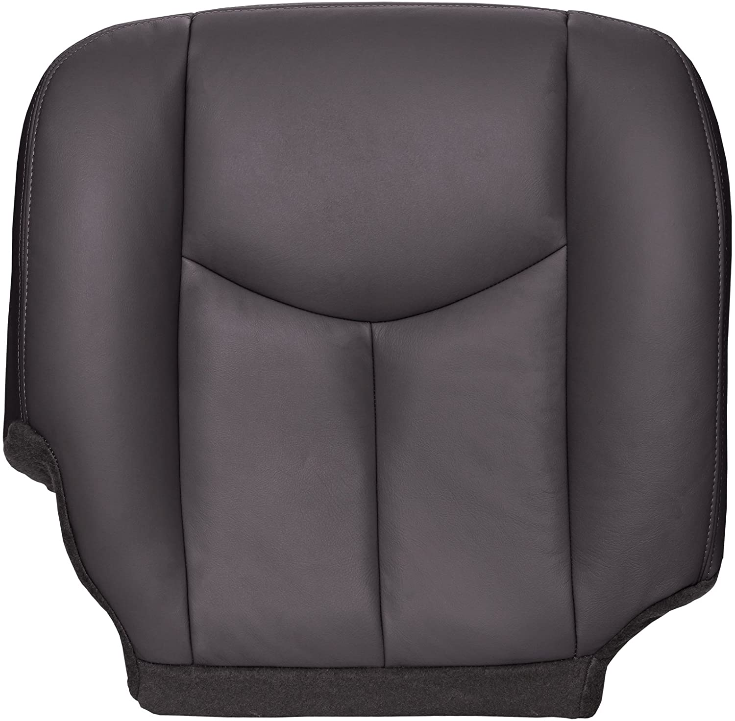 The Seat Shop Work Truck Passenger Bottom Replacement Seat Cover - Very Dark Pewter (Dark Gray) Vinyl (Compatible with 200