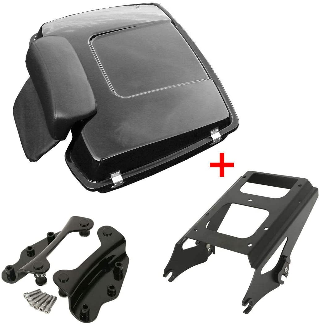 TCMT Razor Tour Pack Trunk Backrest Luggage Mounting Rack Docking Hardware Fit For Harley Touring Models 2009-2013