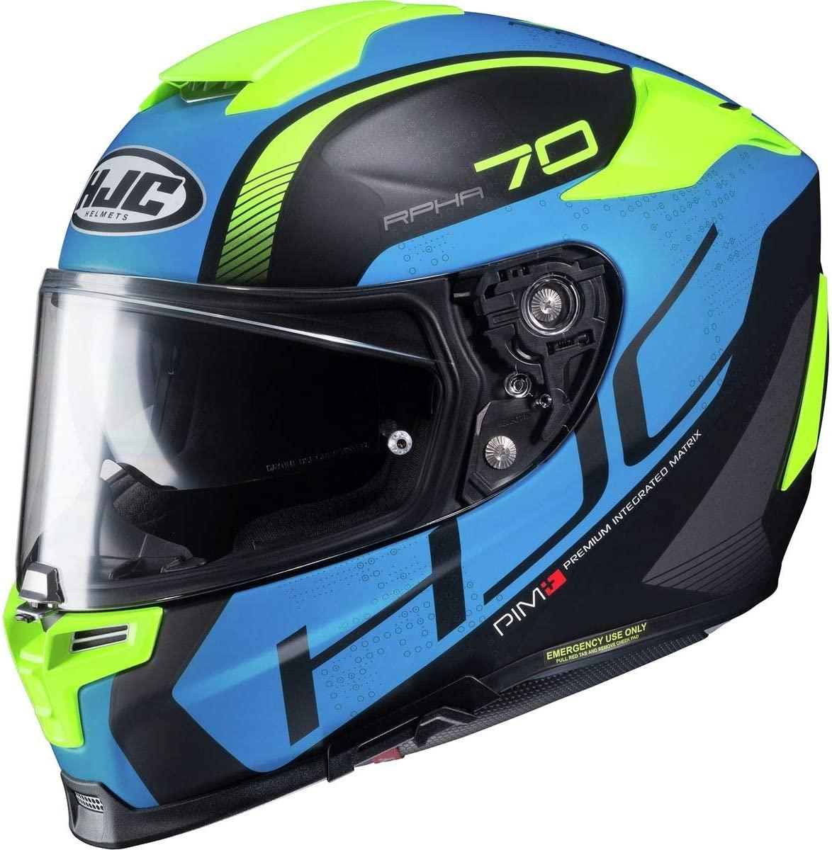 HJC RPHA 70 ST Vias Men's Street Motorcycle Helmet - MC-2SF / Small