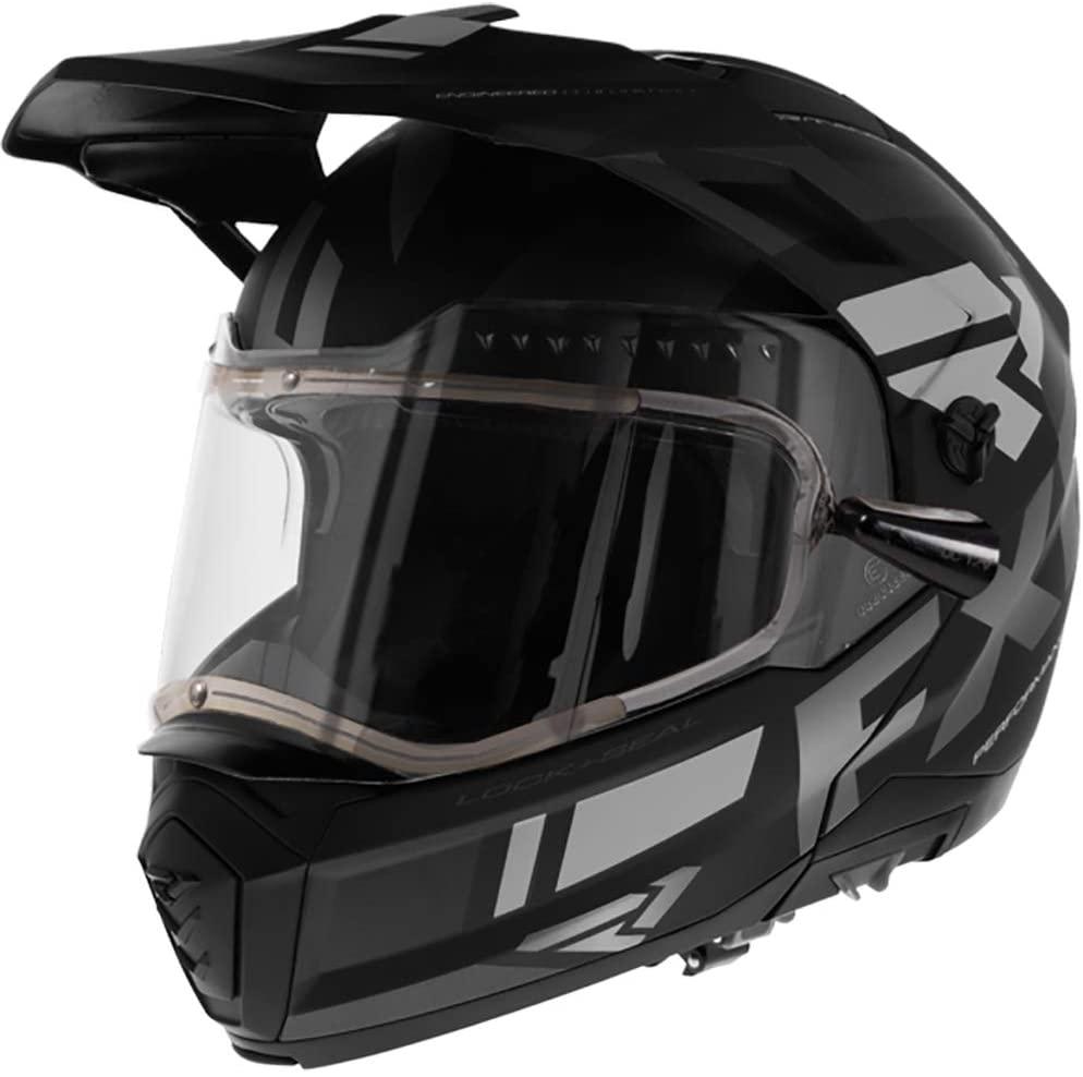 FXR Maverick Modular Team Helmet - Electric Shield - Black Ops - 2XL