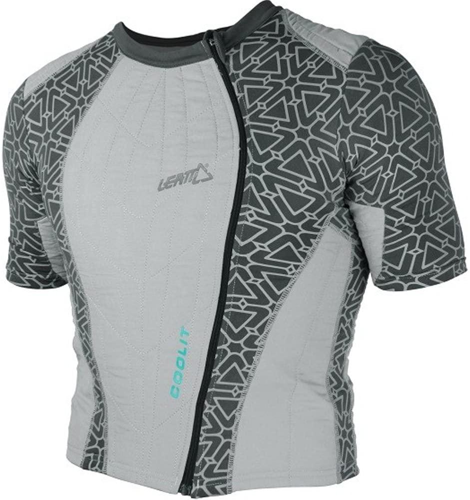 Leatt Coolit Evaporative Cooling Shirt Men's Undergarment Street Racing Motorcycle Body Armor - Grey/X-Small