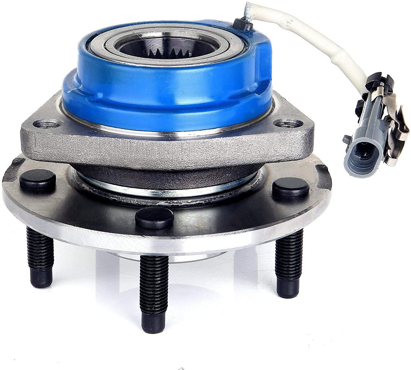 Bodeman - Front Wheel Bearing and Hub Assembly w/ABS for 2000-2005 Chevy Impala, Monte Carlo, Buick LeSabre, Pontiac Bonneville - 513121