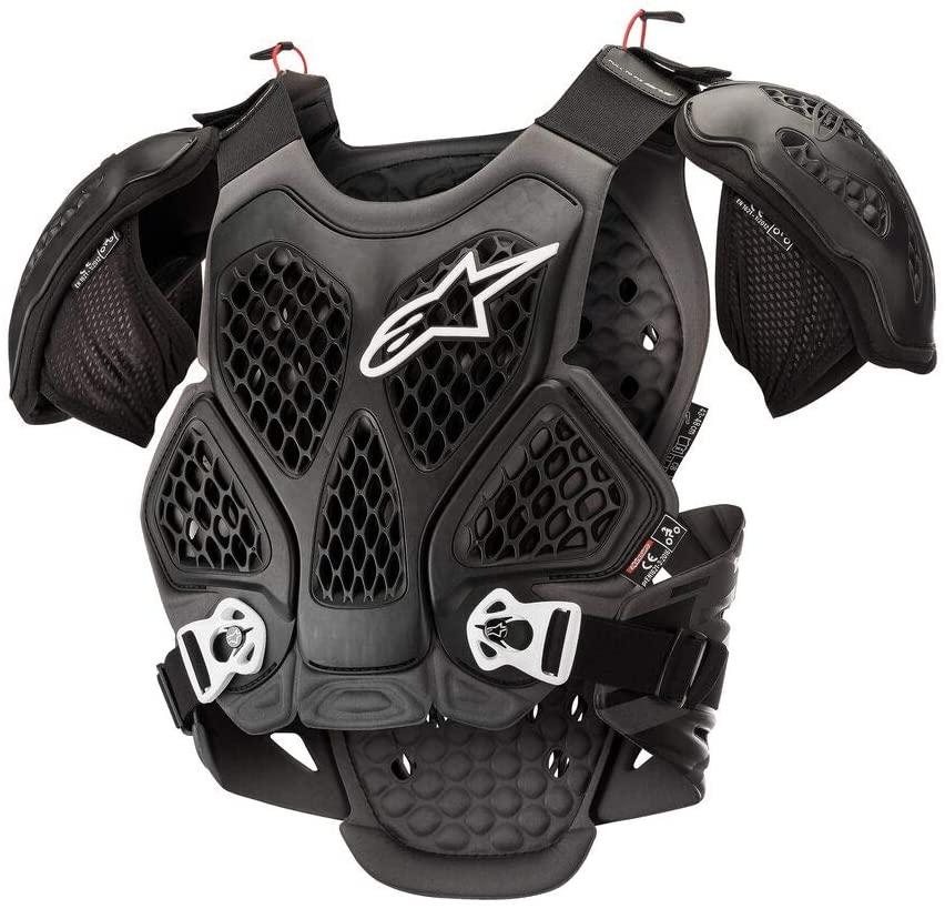 Alpinestars Bionic Motorcycle Chest Protector, Black/Cool Gray, X/2X