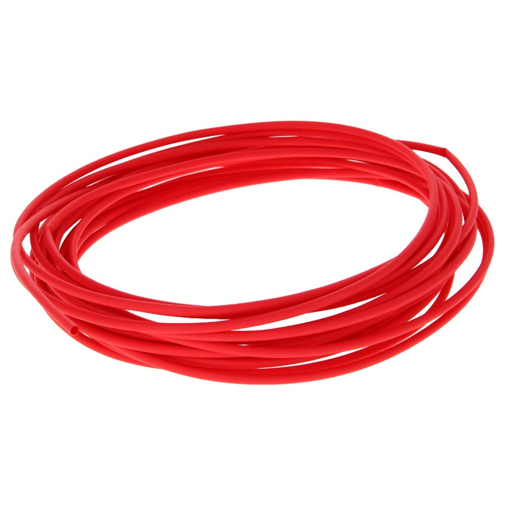 Othmro PE Heat Shrink Tubing 2:1 Wear-Resistant Insulation 1.5mm Dia Red 5m Length 1pcs