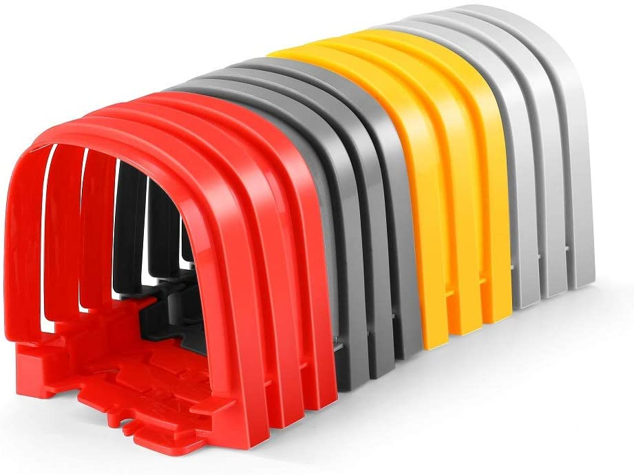 QUOXO Create a Road, Track Accessories Compatible with Most Car Tracks for Kids Boys and Girls (Tunnel)