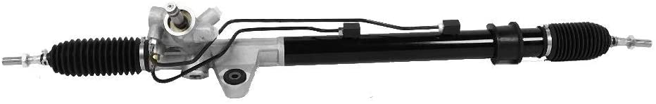 Power Steering Rack, Iron and Aluminum Material Complete Left Power Steering Rack and Pinion Assembly Fits for Honda Accord 2003-2007 Rack 25905