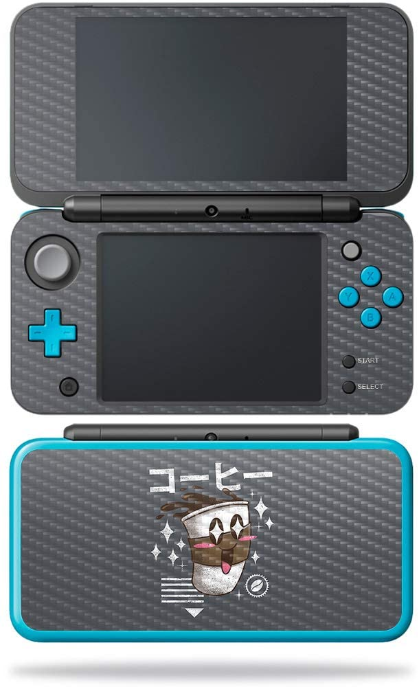 MightySkins Carbon Fiber Skin for Nintendo New 2DS XL - Lambda Chi Alpha Stone | Protective, Durable Textured Carbon Fiber Finish | Easy to Apply, Remove, and Change Styles | Made in The USA