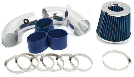 R&L Racing 3 Blue Cold Air Intake Kit + Filter For 11-12 For Hyundai Accent/Veloster 1.6L L4