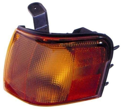 Go-Parts - for 1995 - 1997 Toyota Tercel Turn Signal Light Assembly / Lens Cover - Front Left (Driver) Side 81520-16220 TO2530120 Replacement 1996