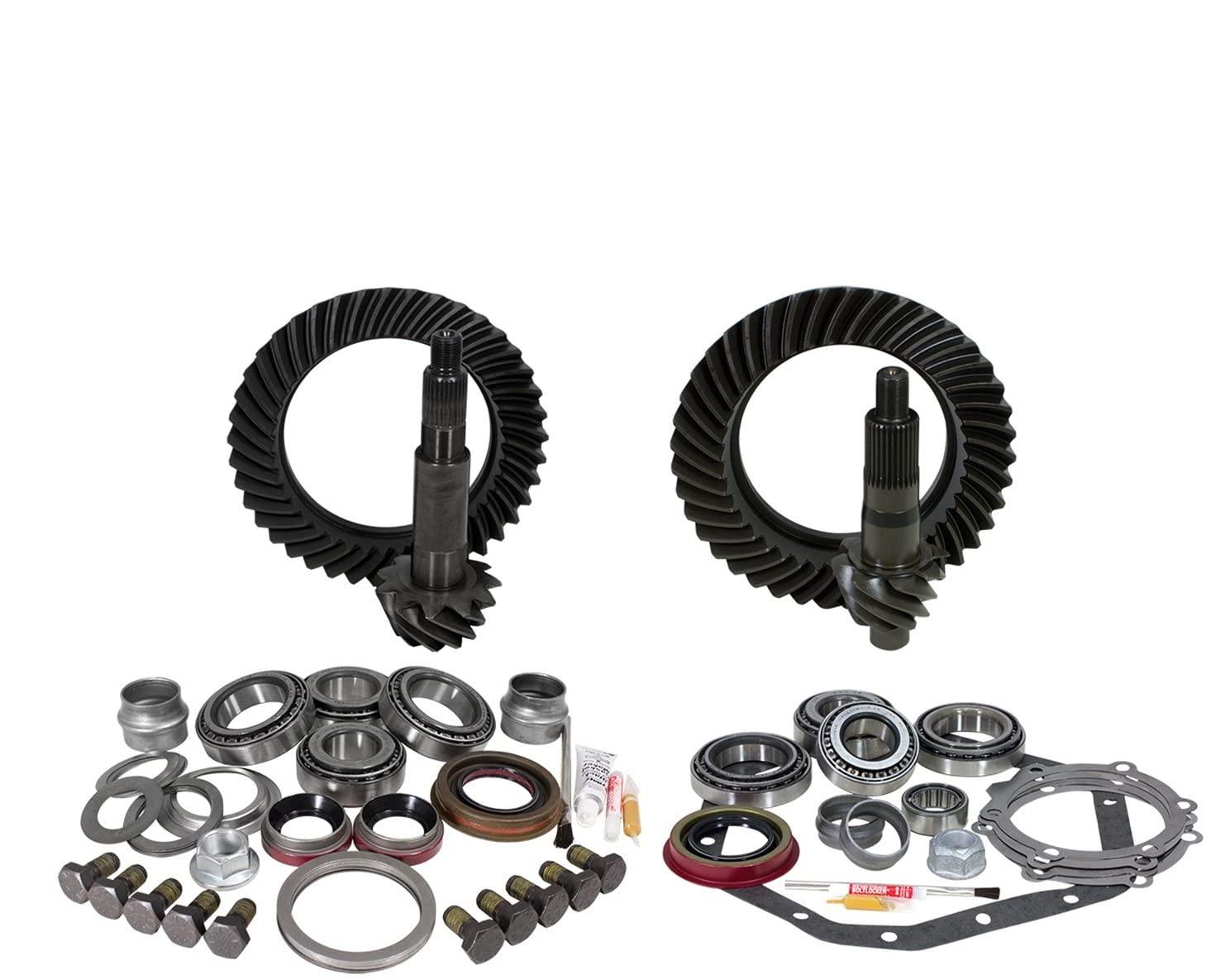 Yukon Gear & Axle (YGK022) Gear & Install Kit for GM 14T Dana 60 5.13 Ratio Standard Rotation