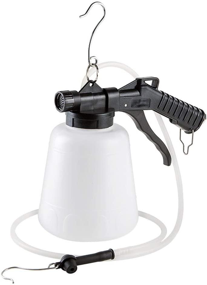 A A IN TM106 1L Vacuum Brake Fluid Bleeder,Pneumatic Brake Fluid Bleeder Tool with Hanging Hook