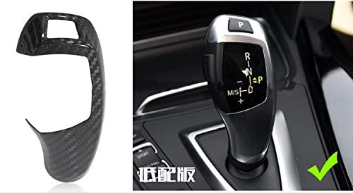 Eppar New Carbon Fiber Shift Knob Cover for BMW X5 E70 2008-2013