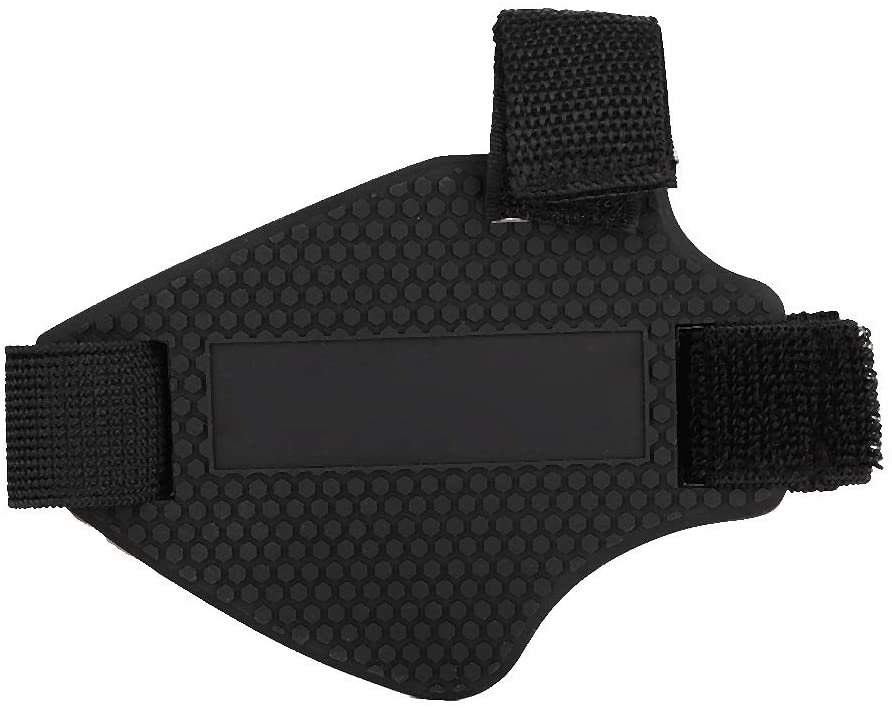 Motorcycle Shoe Cover Pad, Rubber Motorcycle Shoes Boots Cover Protector Shifter Guards Gear Protection Shift Pad