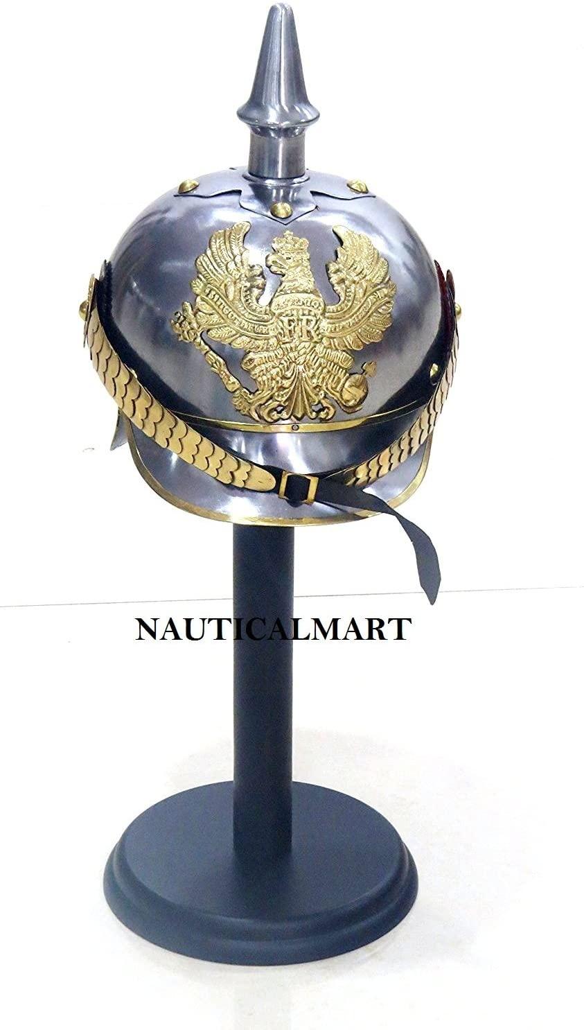 NauticalMart WWII German Pickelhaube Helmet